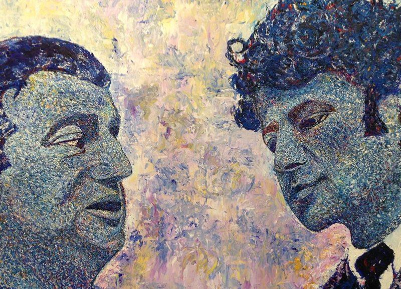 Brendan Behan & Lucien Freud